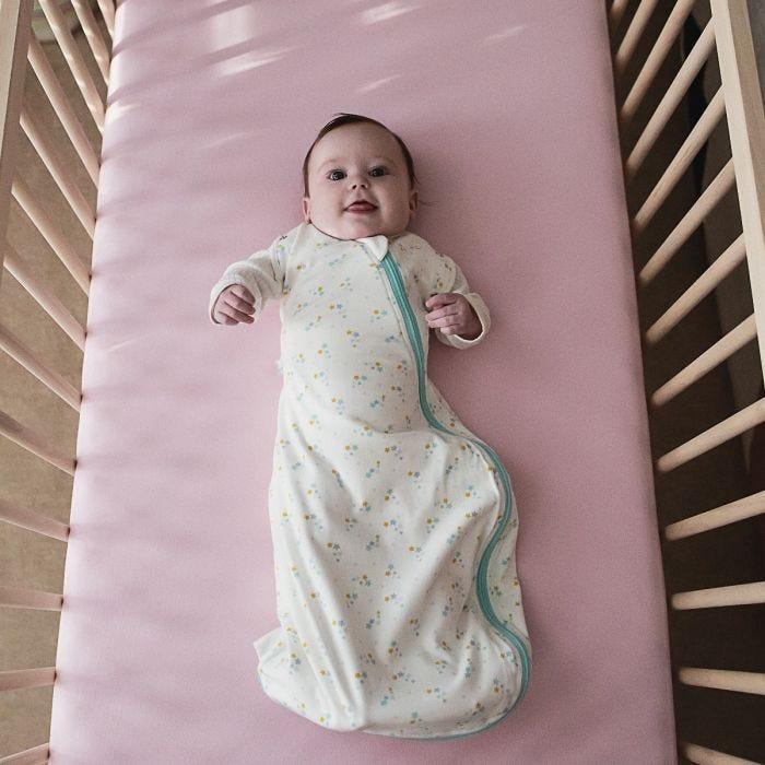 Baby sleeping in The Original Grobag Baby Stars Snuggle