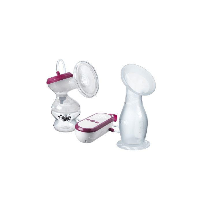 Made for Me Electric Breast Pump  and silicone breast pump