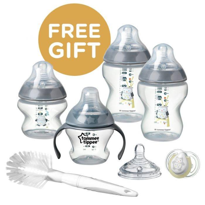 Newborn Bottle Feeding Pack Free Gift