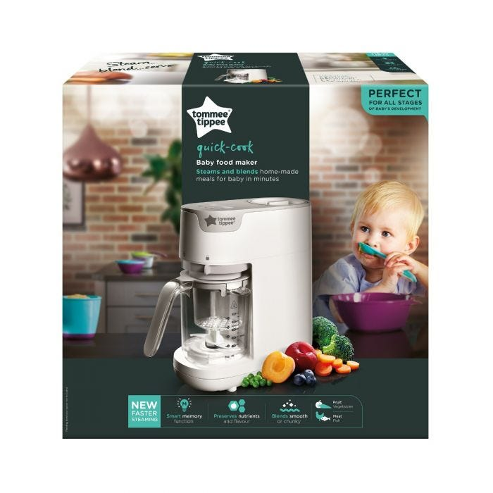 Quick Cook Baby Food Maker packaging