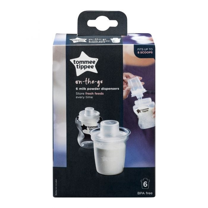 Milk powder dispenser packaging