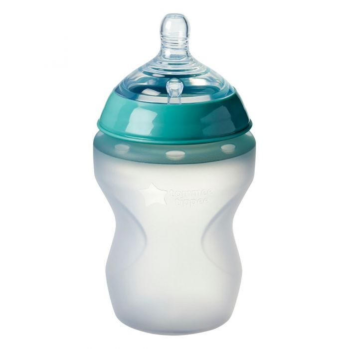 Closer to Nature Silicone Baby Bottle, 9oz