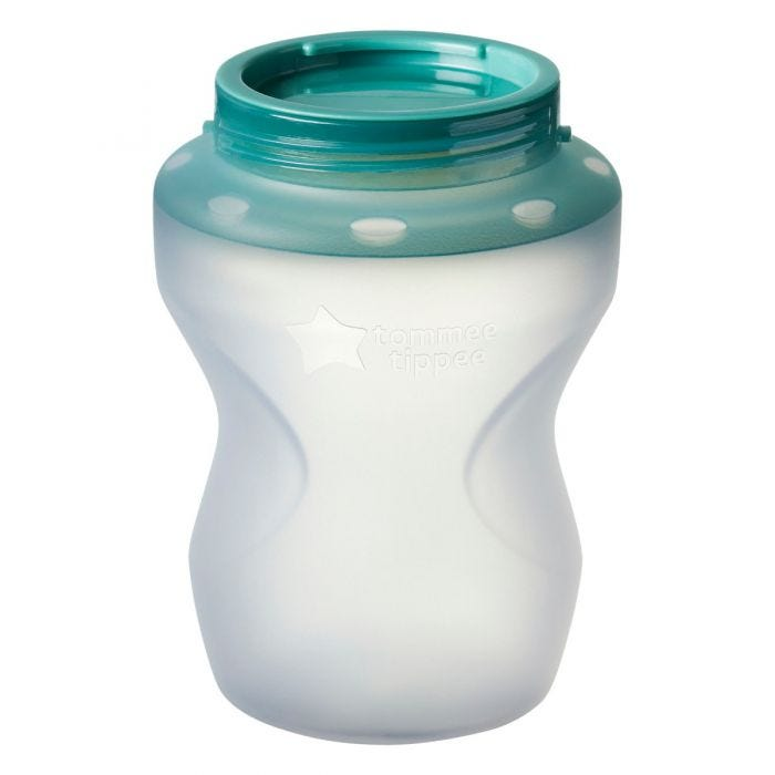 Closer to Nature Silicone Baby Bottle, 9oz  without teat