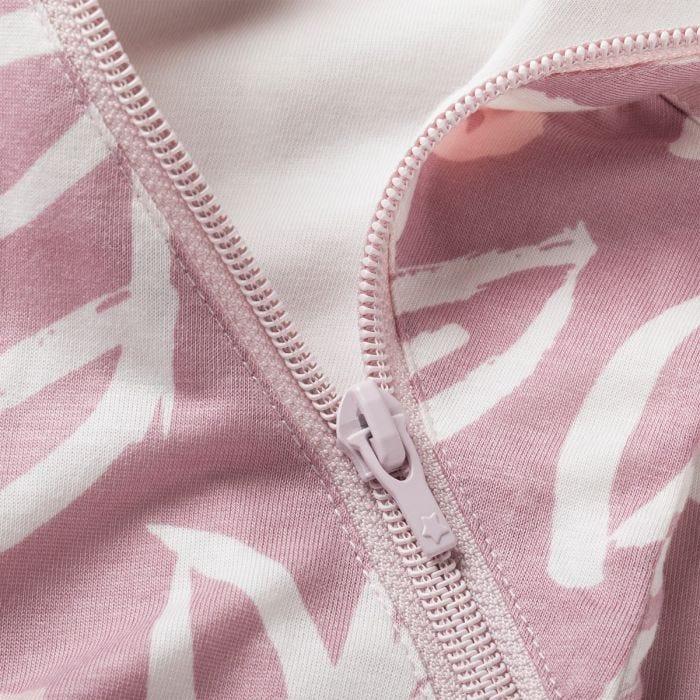 The Original Grobag Botanical Sleepbag zip close up
