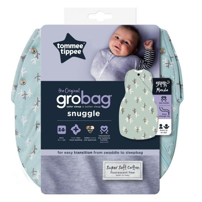The Original Grobag Treasure Trees Snuggle packaging