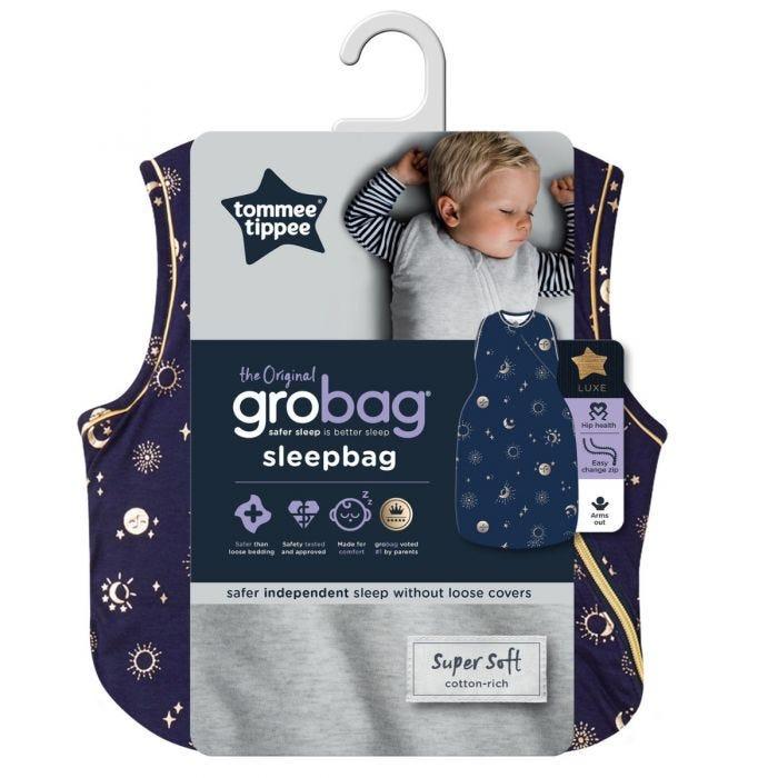 The Original Grobag Moon Child Sleepbag packaging