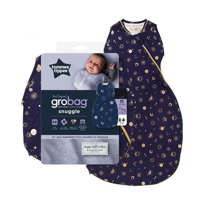 The Original Grobag Moon Child Snuggle with packaging