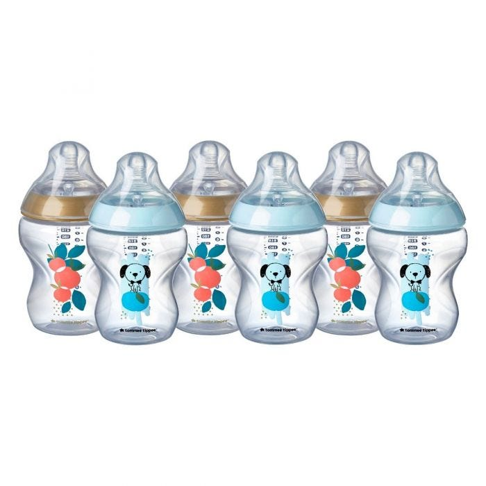 CTN Decorated Baby Bottles