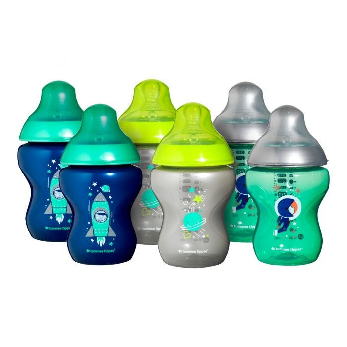 tommee-tippee-closer-to-nature-boldly-goes-baby-bottles-blue-green-silver-yellow