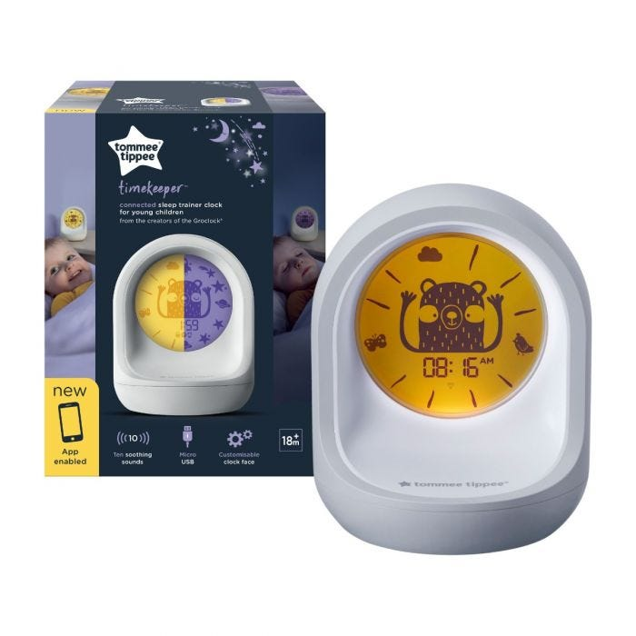 Sleep trainer with packaging