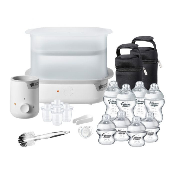 white-Complete-Feeding-Set