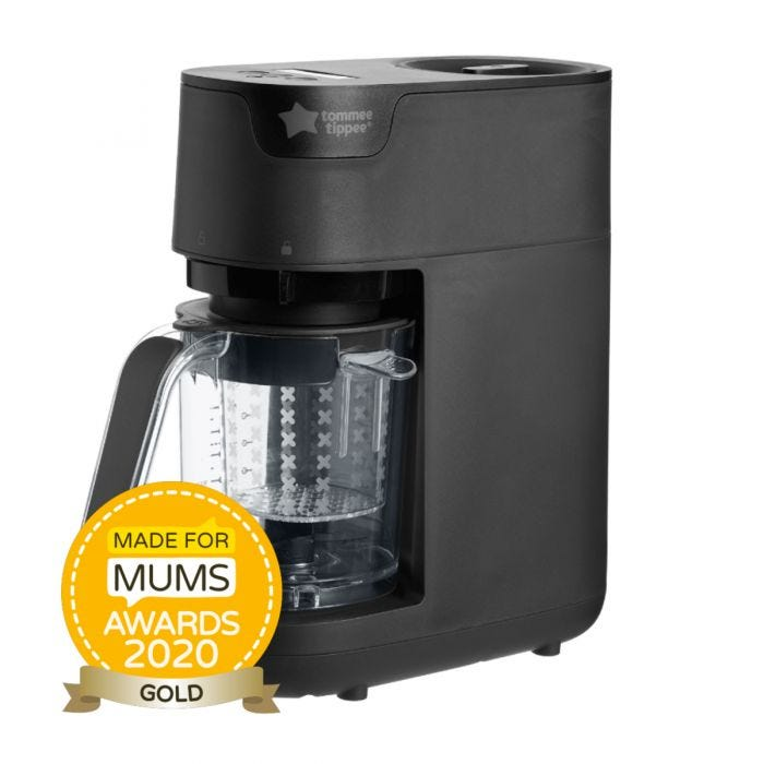 Quick Cook baby food maker black