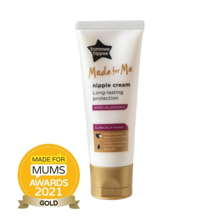 Made for Me Nipple Cream 40ml with award roundel