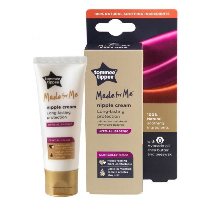 Made for Me Nipple Cream 40ml with packaging
