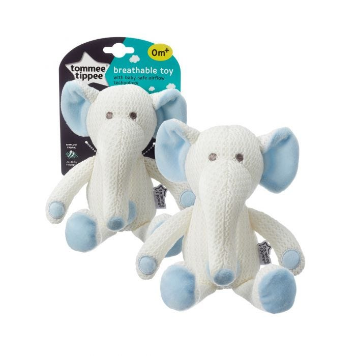 Eddy the Elephant Breathable Toy with packaging