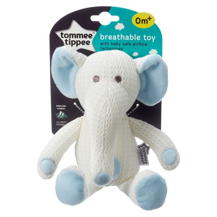 Eddy the Elephant Breathable Toy packaging