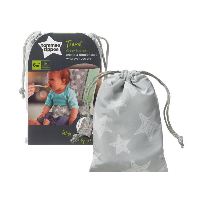 travel chair harness bag with packaging