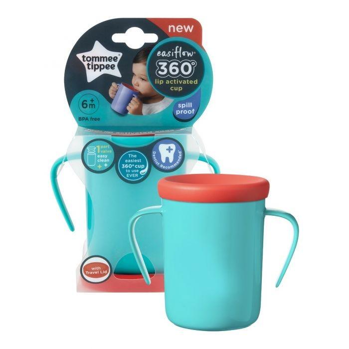 Easiflow 360° Cup purple packaging