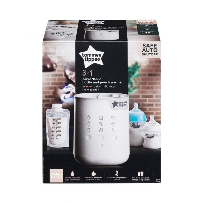 3-in-1 Advanced Electric Bottle and Pouch Warmer packaging