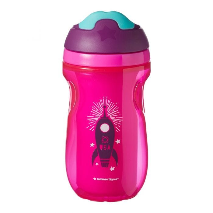 pink Insulated Sipper Cup