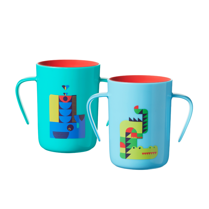 blue-and-green-whale-and-crocodile-cups-two-pack