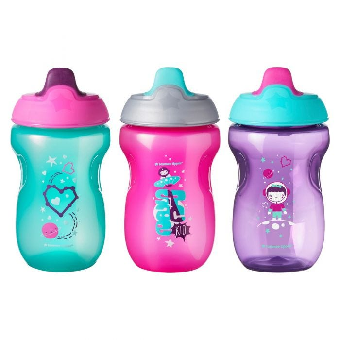 Sippee Cups, 3 pack girl