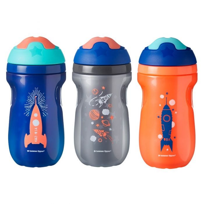 Insulated Sippee Cup - 3 pack boy