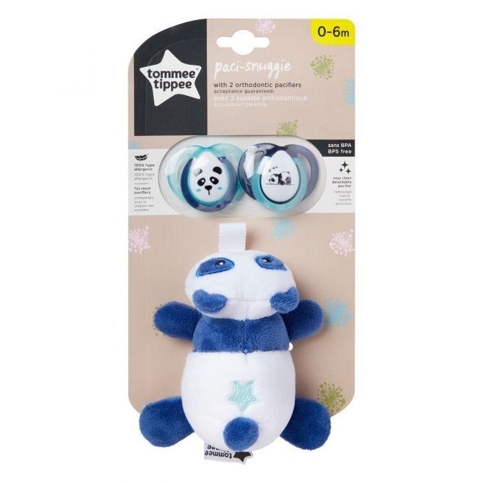 Paci Snuggie Stuffed Animal  packaging