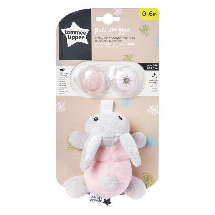 Paci Snuggie Stuffed Rabbit packaging