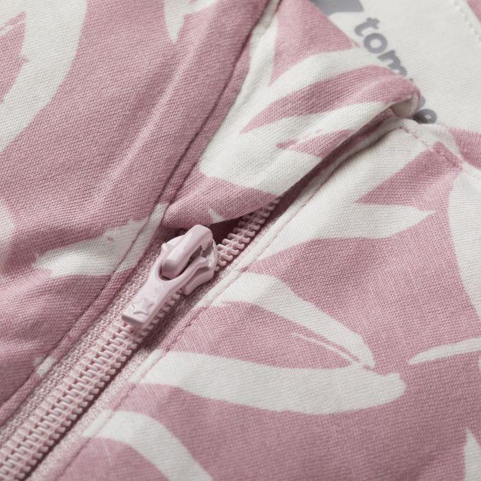 The Original Grobag Botanical Snuggle zip close up