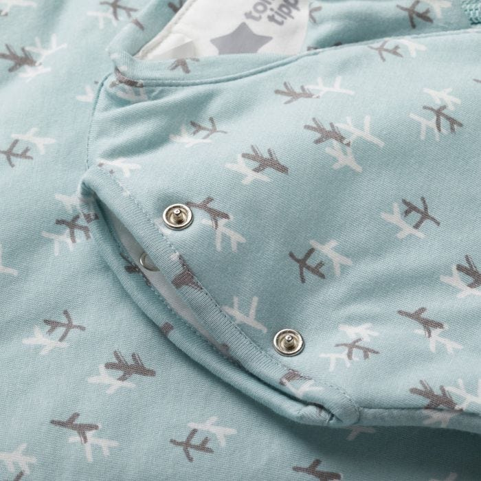 The Original Grobag Treasure Trees Snuggle fabric close up