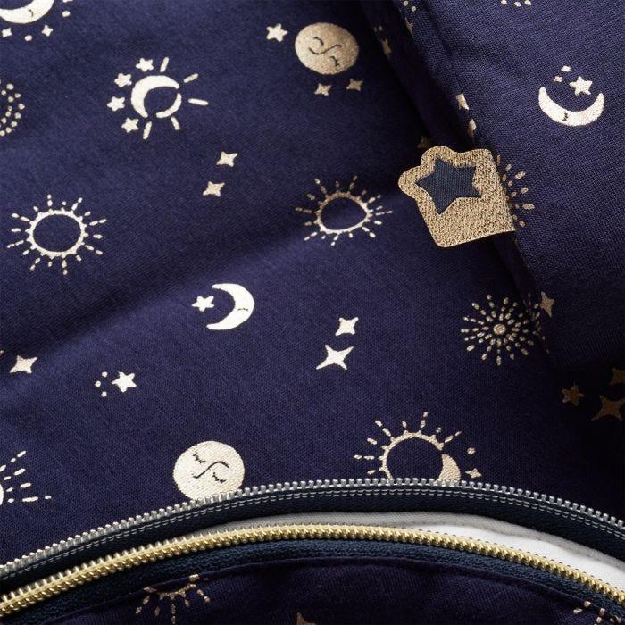 The Original Grobag Moon Child Sleepbag fabric close up