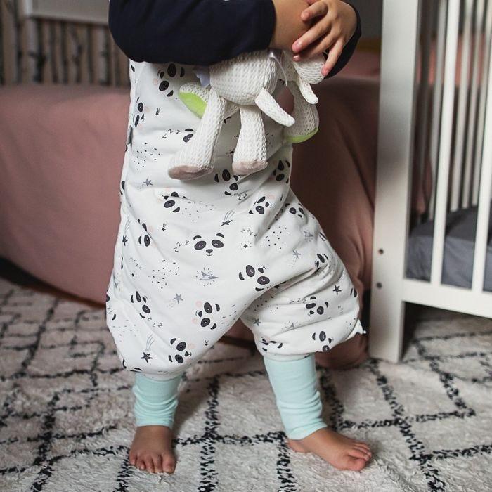 child wearing The original grobag little pip steppee