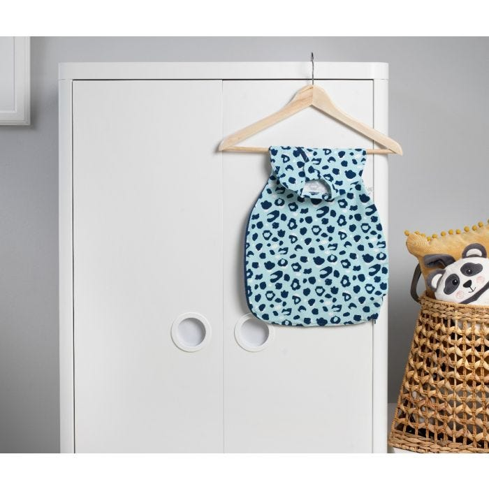 The Original Grobag Abstract Animal Easy Swaddle hanging up