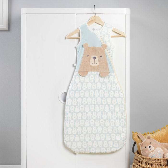 The Original Grobag Bennie the Bear Sleepbag hanging up