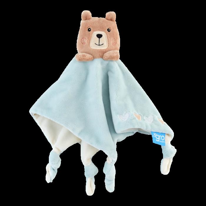 bennie-the-bear-gro-comforter-blue