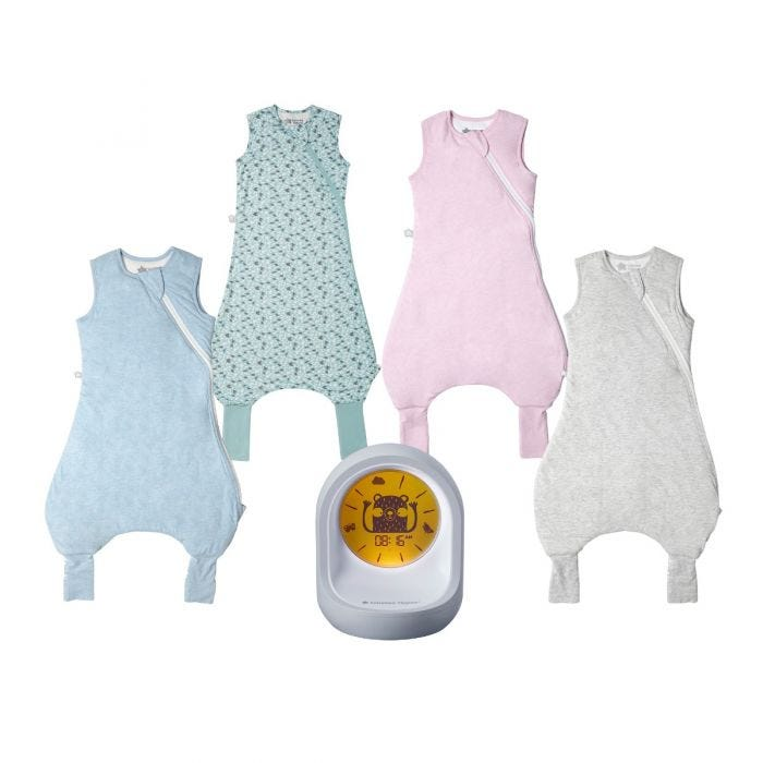 Original Steepee Grobags in range of colours and Sleep Trainer