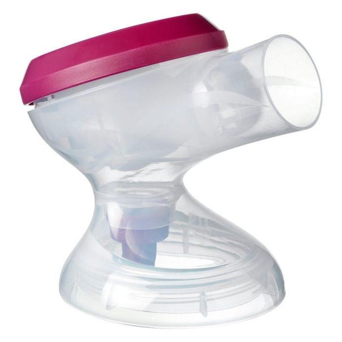 Breast pump nozzle