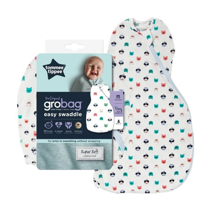 Cat and Mouse Easy Swaddle with packaging