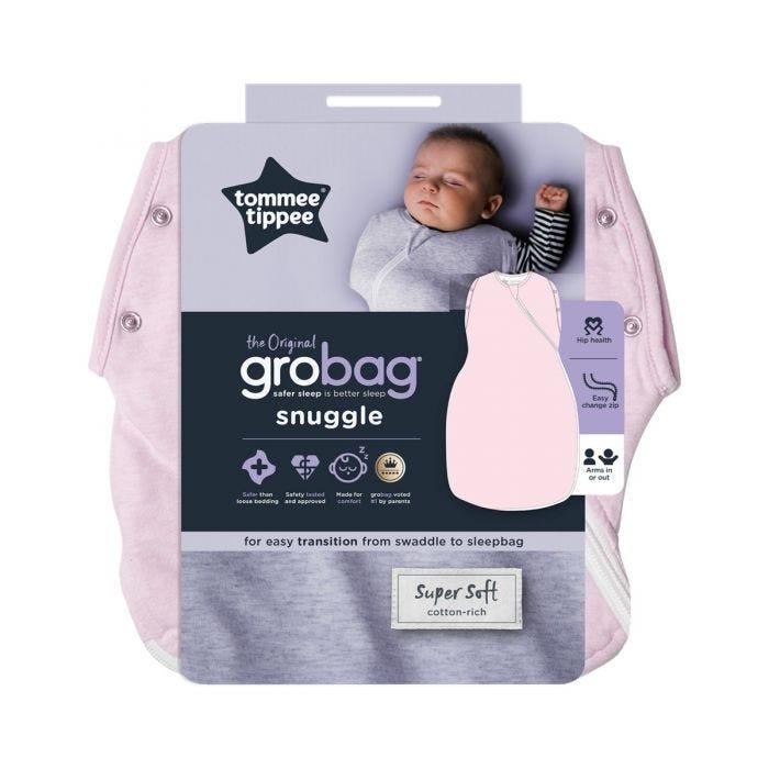 The Original Grobag Pink Marl Snuggle packaging