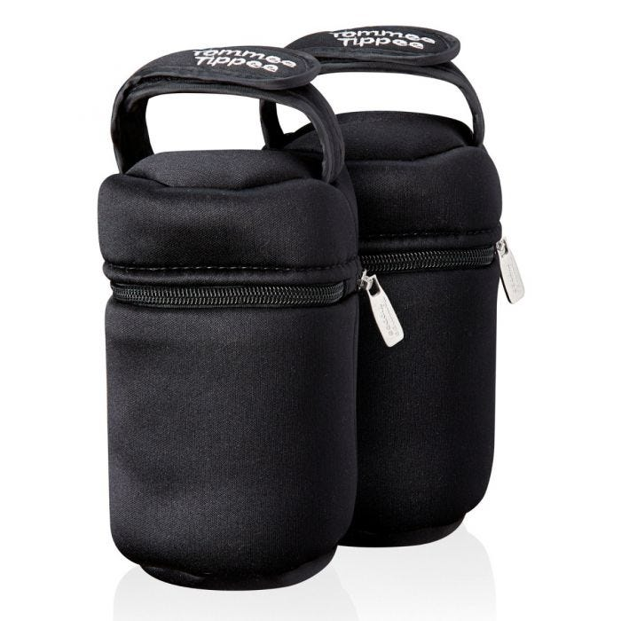 2-pack-black-insulated-bottle-bags-with-zip