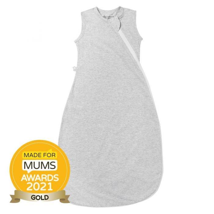 The Original Grobag Grey Marl Sleepbag with award winning roundel