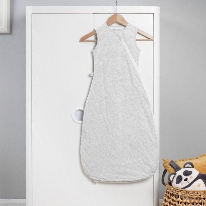 The Original Grobag Grey Marl Sleepbag hanging up