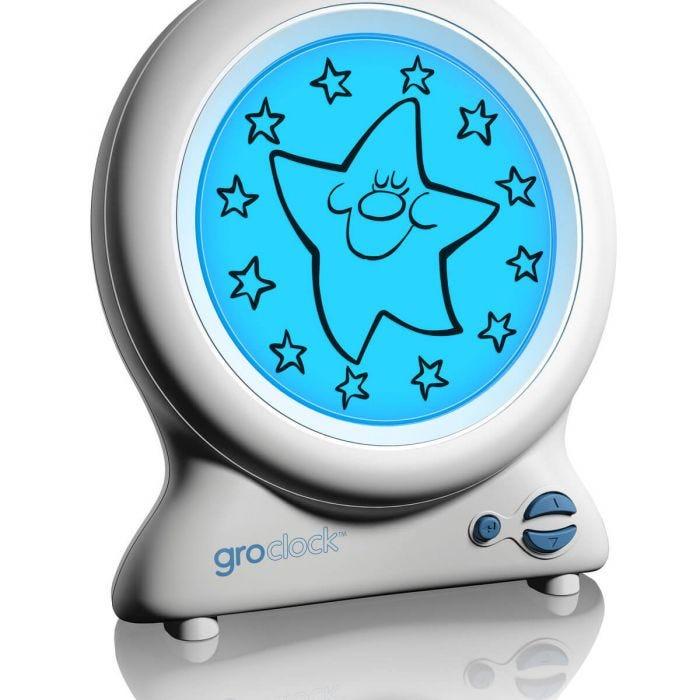 Groclock sleep trainer stars and sun