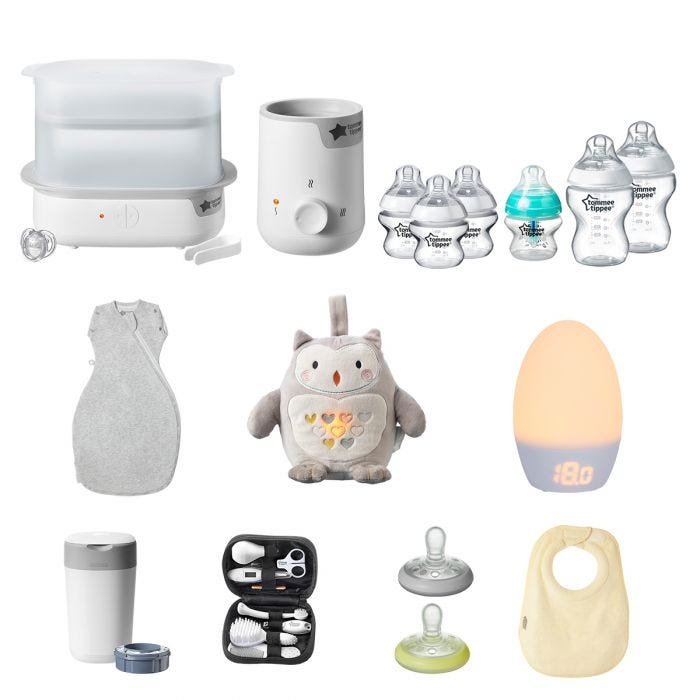 Ultimate baby bundle product options view