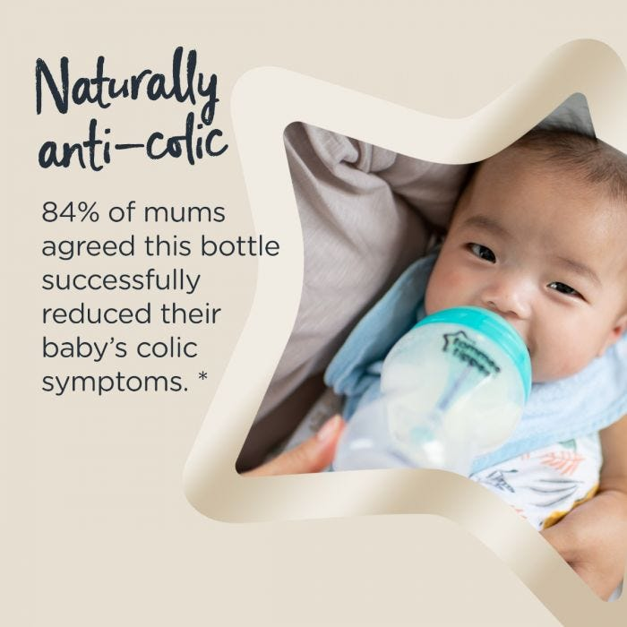 AAC Baby bottles infographic
