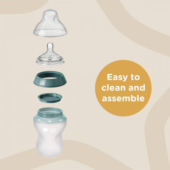 CTN baby silicone bottles infographic