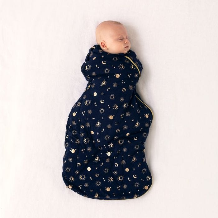 baby wearing tommee tippee moon child snuggle