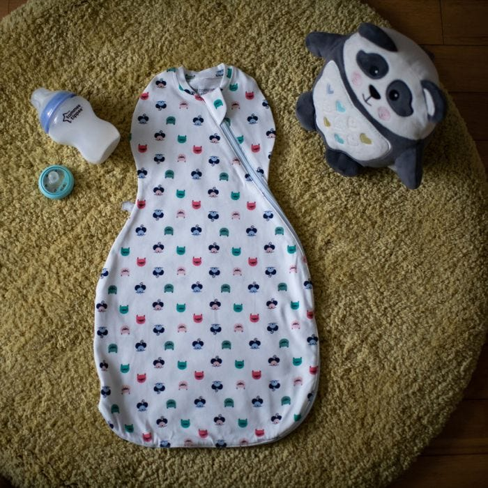 Cat and Mouse Easy Swaddle
