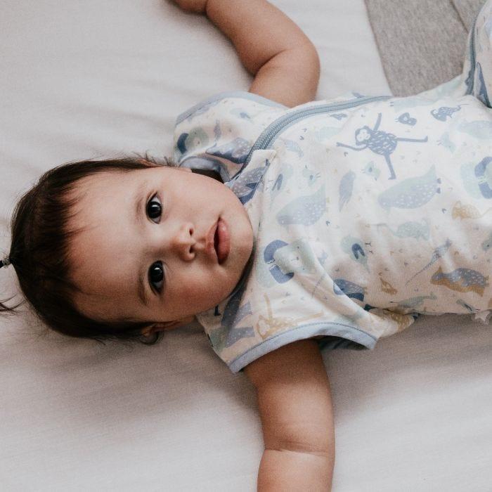 Child wearing The Original Grobag Animal Encyclopedia Sleepbag